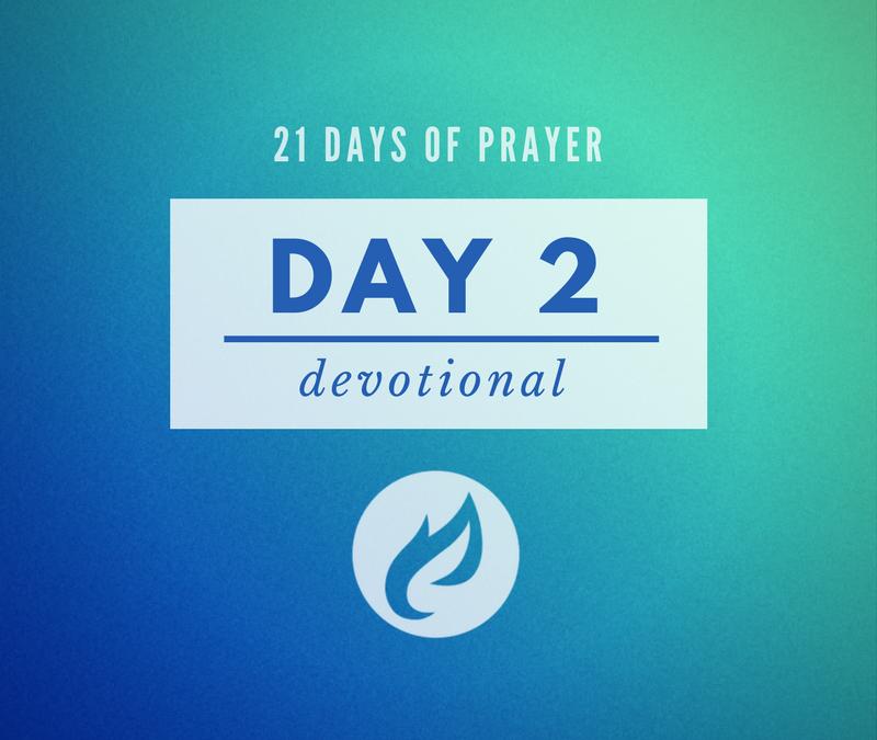 21 Days – Day 2