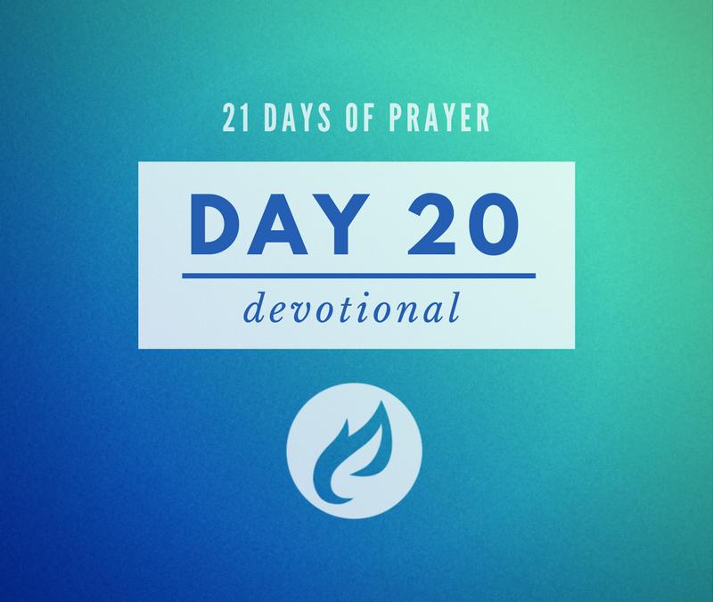 21 Days – Day 20