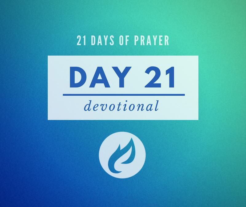 21 Days – Day 21