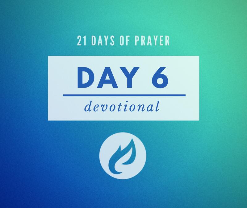 21 Days – Day 6
